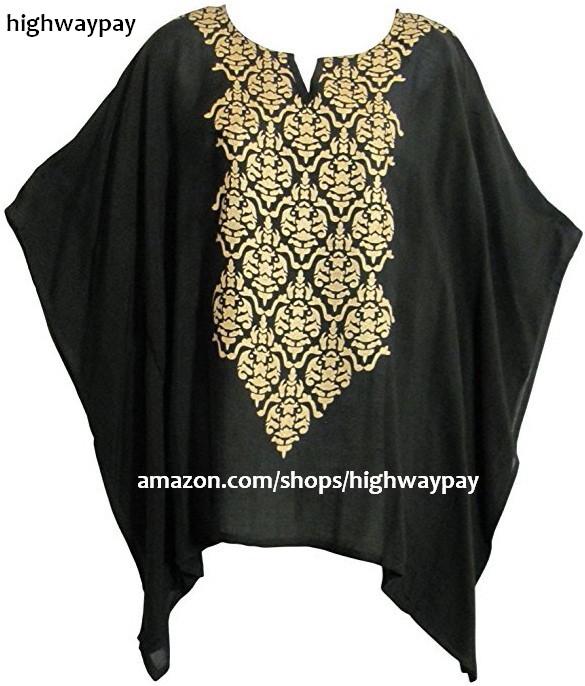 Kimono Sleeve Poncho - Black