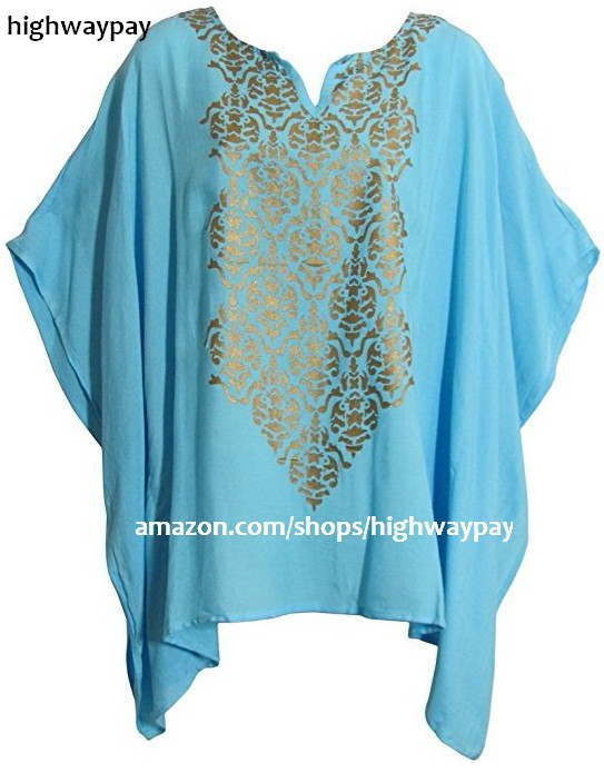 Kimono Sleeve Poncho - Teal